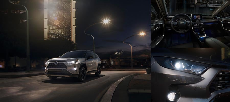 2019 All-New Toyota RAV4 XSE HV Corona, CA at Larry H Miller Toyota Corona