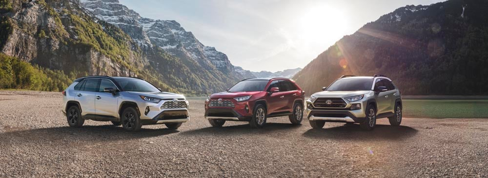 2019 All-New Toyota Rav4 Corona, CA at Larry H Miller Toyota Corona