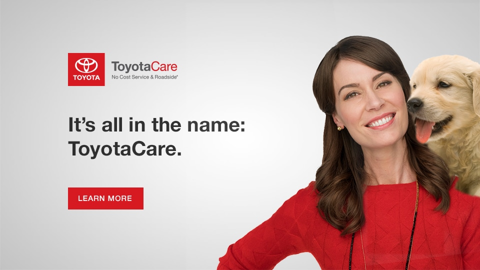 ToyotaCare No Cost Maintenance Plan