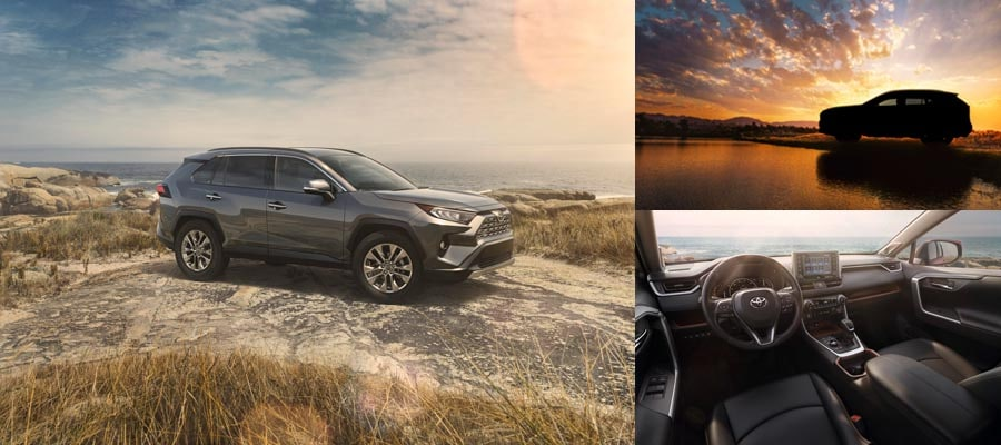 2019 All-New Toyota RAV4 Limited Corona, CA at Larry H Miller Toyota Corona