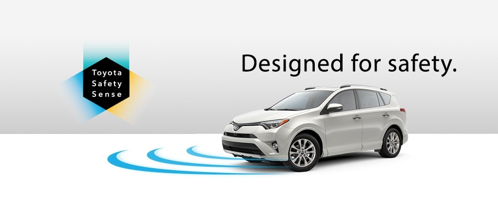 Toyota Safety Sense, a multi-featured active safety package anchored by automatic pre-collision warning and braking.
