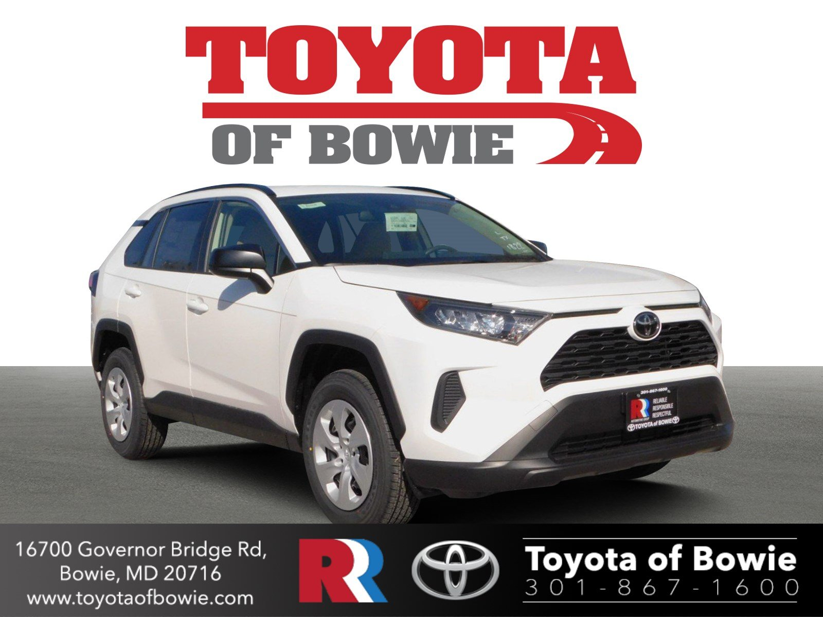 06beabf2c5e32b 2019 Toyota RAV4 For Sale in Bowie MD | Toyota of Bowie