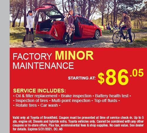 Factory Minor Maintenance