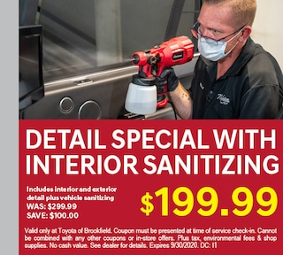 Detail Special with Interior Sanitizing