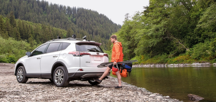 RAV4 Foot-activated Liftgate