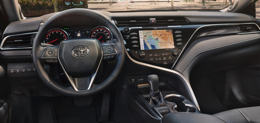 Toyota Camry Hands-Free Trunk