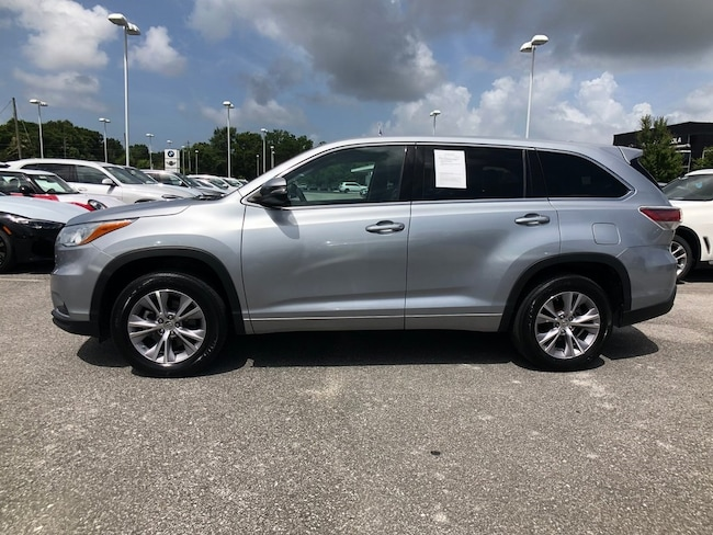 Used 2015 Toyota Highlander SUV Brookhaven, MS