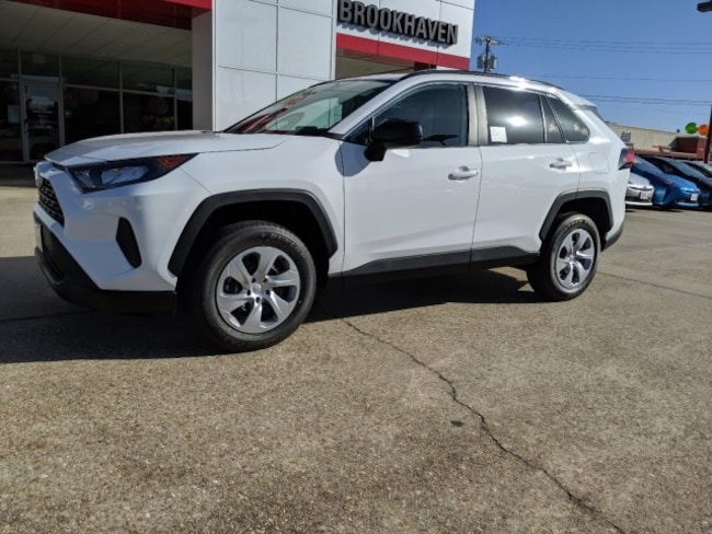 New 2019 Toyota RAV4 LE SUV Brookhaven, MS