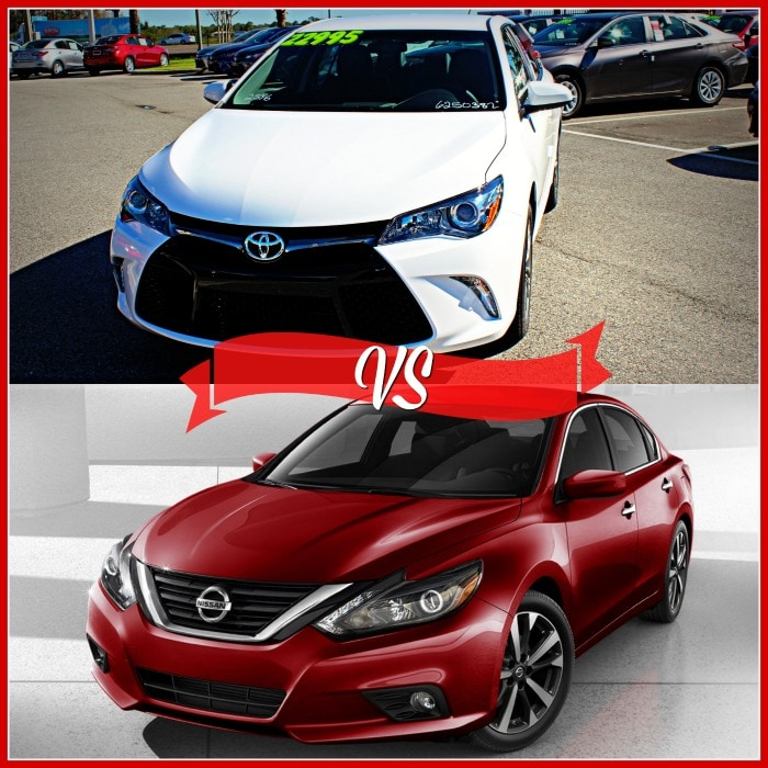2016 toyota camry vs nissan altima new car comparisons. Black Bedroom Furniture Sets. Home Design Ideas