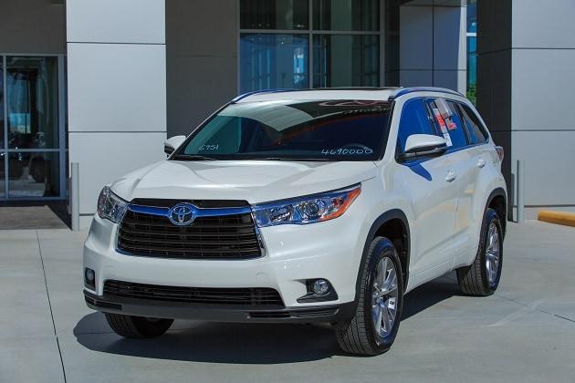 2014 Toyota Highlander Model Info New Toyota Suvs Near Orlando