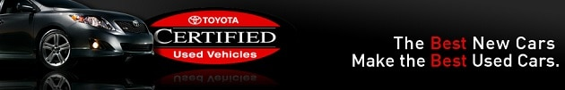 Toyota Certified Used Cars