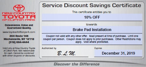 Toyota Parts Dealer >> Specials On Toyota Parts Near Albany Ny Toyota Parts Dealer