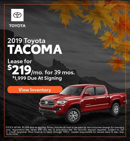 2019 - Tacoma - November