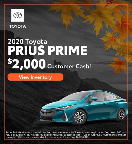2019 - Prius Prime - November