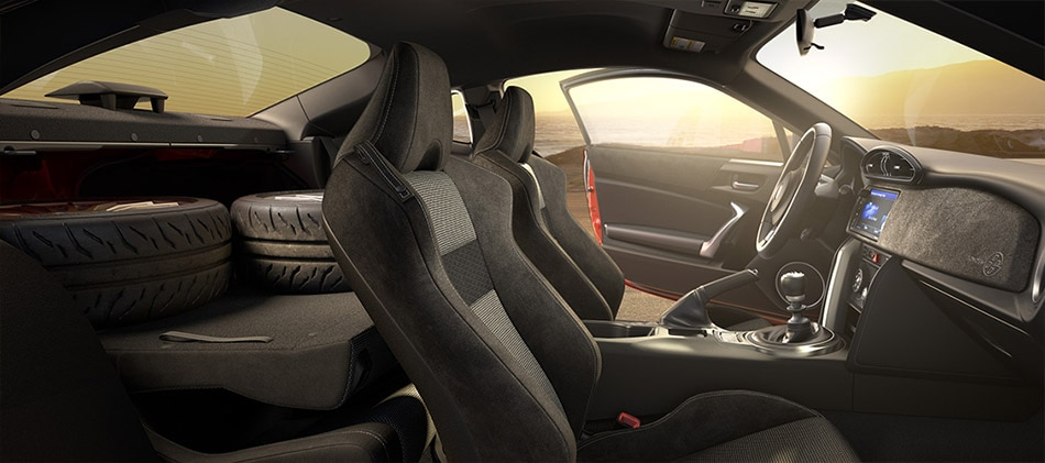 The Interior of the Toyota 86