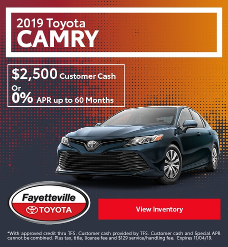 2019 - Camry - October