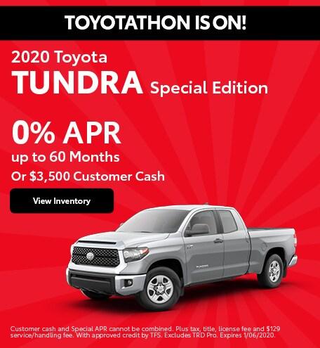 2020 - Tundra - December