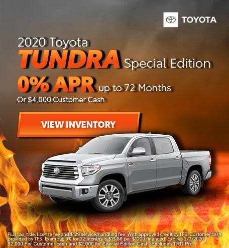 2020 - Tundra - January