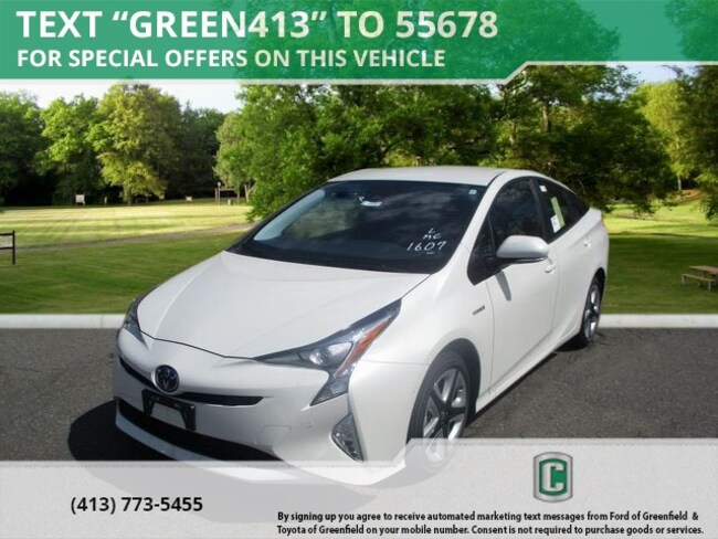 New 2018 Toyota Prius Three Touring Hatchback for sale in Greenfield
