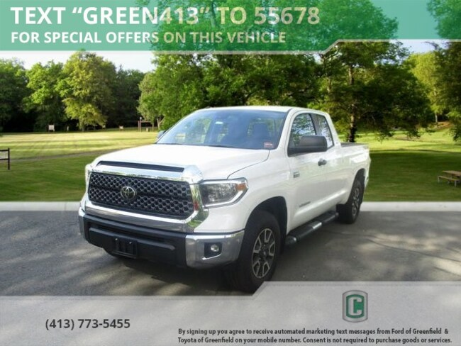 New 2018 Toyota Tundra SR5 5.7L V8 Truck Double Cab for sale in Greenfield