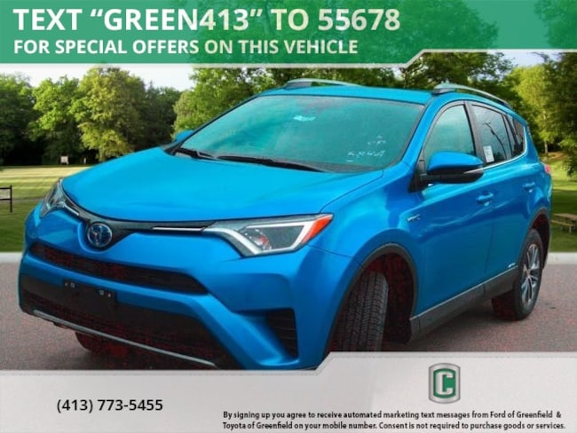 New 2018 Toyota RAV4 Hybrid LE SUV for sale in Greenfield