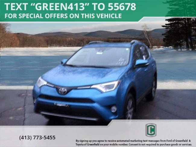 New 2018 Toyota RAV4 XLE SUV for sale in Greenfield