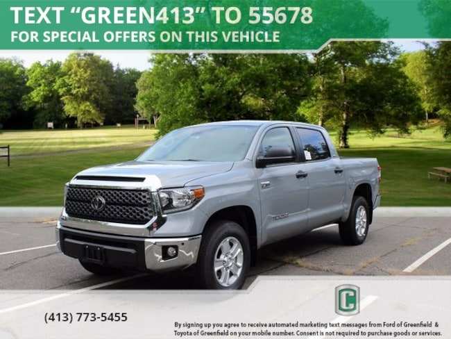 New 2018 Toyota Tundra SR5 5.7L V8 Truck CrewMax for sale in Greenfield