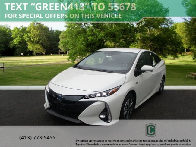 New 2018 Toyota Prius Prime Advanced Hatchback for sale in Greenfield