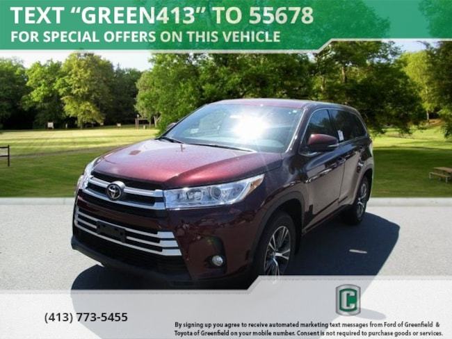 New 2018 Toyota Highlander LE Plus V6 SUV for sale in Greenfield