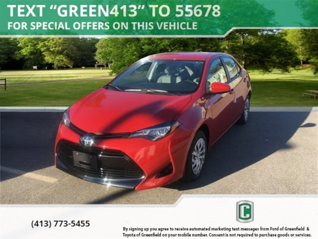 New 2019 Toyota Corolla LE Sedan for sale in Greenfield