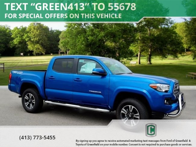 New 2018 Toyota Tacoma TRD Sport V6 Truck Double Cab for sale in Greenfield
