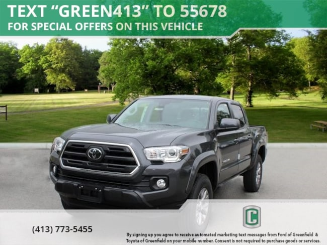 New 2019 Toyota Tacoma SR5 V6 Truck Double Cab for sale in Greenfield