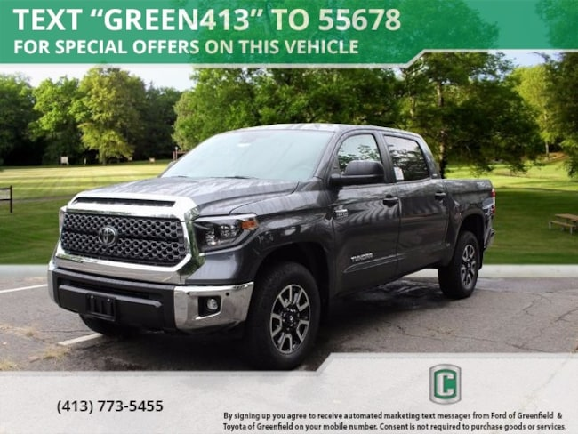 New 2019 Toyota Tundra SR5 5.7L V8 Truck CrewMax for sale in Greenfield