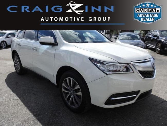 Used 2015 Acura MDX MDX with Technology Package SUV in Pembroke Pines