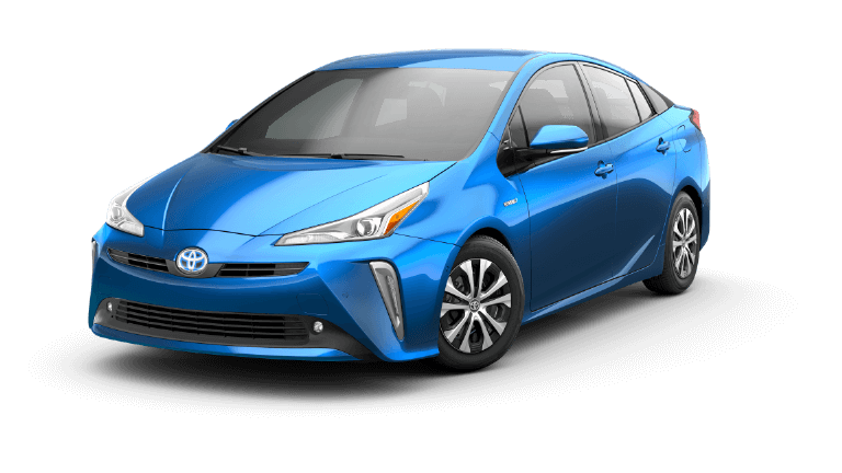 2019 Toyota Prius LE AWD-e in Electric Storm Blue