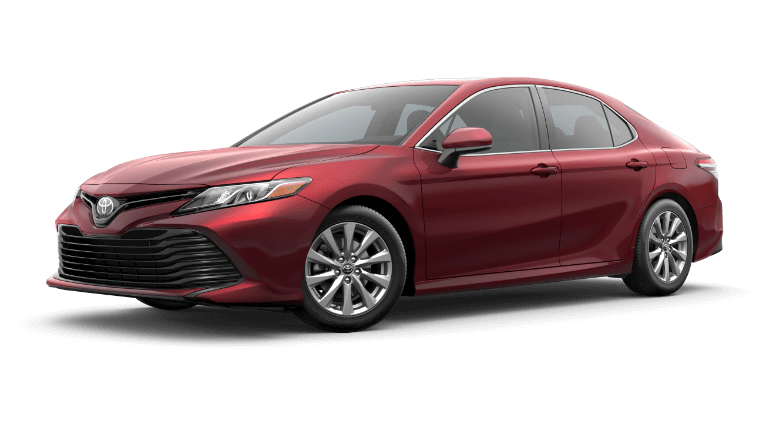2020 Toyota Camry Hybrid LE in RubyFlare