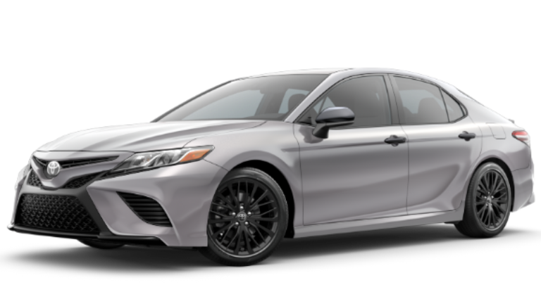 2020 Toyota Camry SE Nightshade Edition in CELESTIAL SILVER METALLIC .png