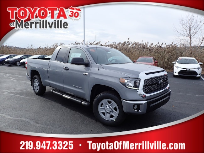 New 2019 Toyota Tundra SR5 5.7L V8 w/FFV Truck Double Cab For Sale in Merrillville, IN