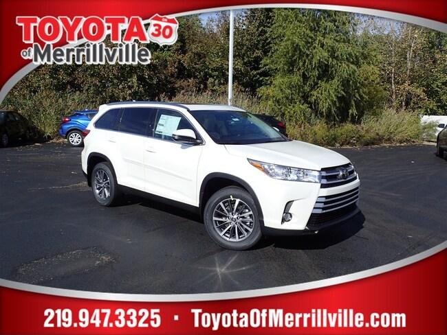 New 2019 Toyota Highlander XLE V6 SUV For Sale in Merrillville, IN