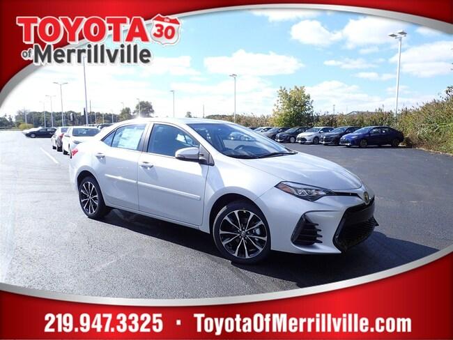New 2019 Toyota Corolla XSE Sedan For Sale in Merrillville, IN