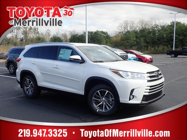 New 2019 Toyota Highlander XLE V6 SUV For Sale in Merrillville, IN