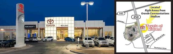 Toyota Of Midland >> New Used Cars Dealerships Midland Tx Toyota Of Midland