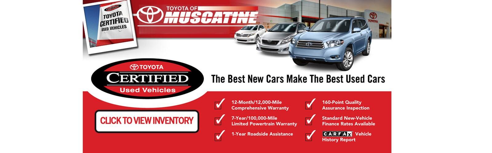 New Used Cars Trucks Toyota Of Muscatine Muscatine Ia