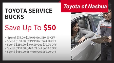 Delightful Toyota Of Nashua Service Offer