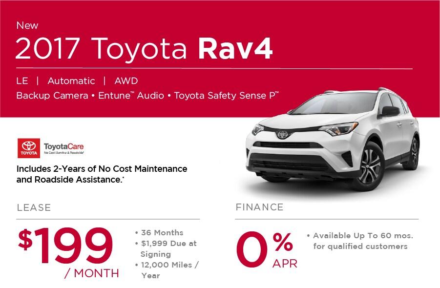 2017 Toyota Rav4 Special in Nashua NH