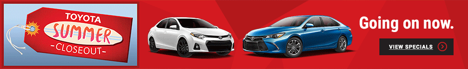 Toyota of Nashua Summer Closeout