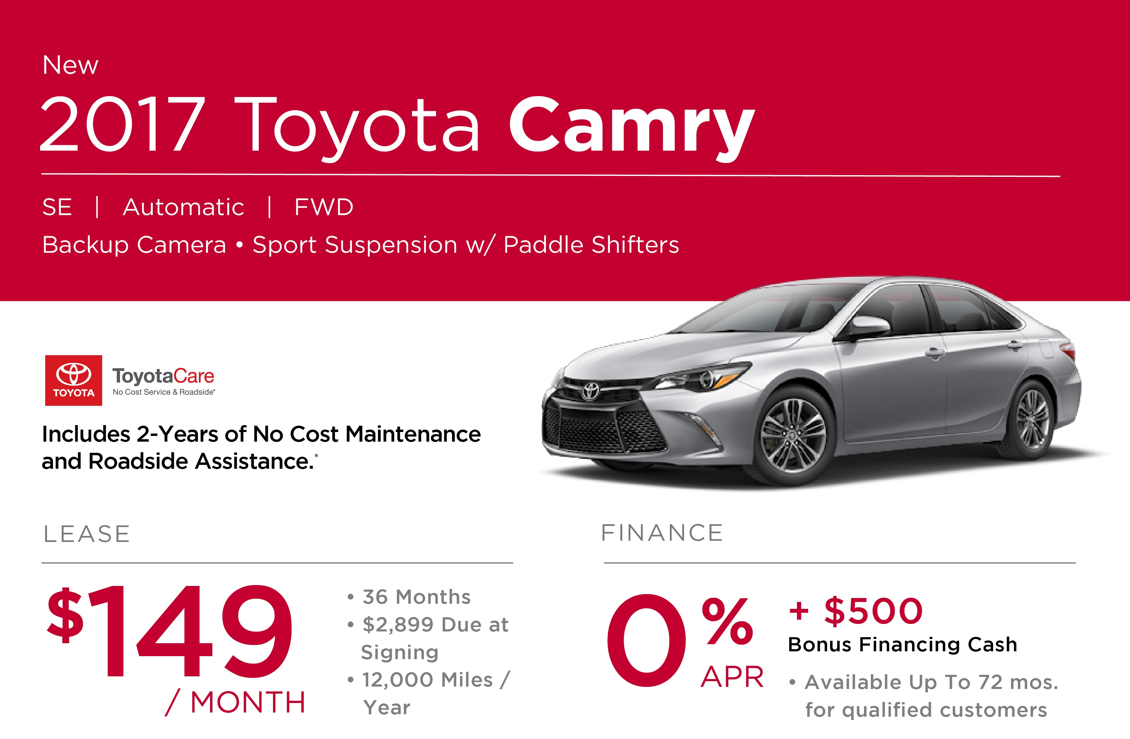 2017 Toyota Camry Special in Nashua NH
