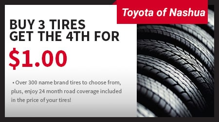 Current Service Specials From The Toyota Of Nashua Service Center