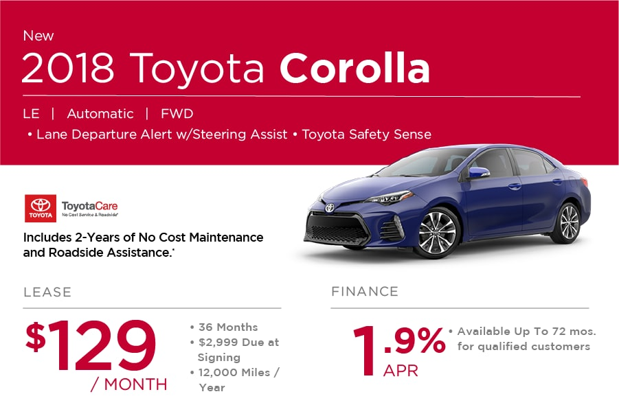 2018 Toyota Corolla Special in Nashua NH