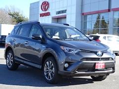 New 2018 Toyota RAV4 Hybrid Limited SUV for sale Philadelphia